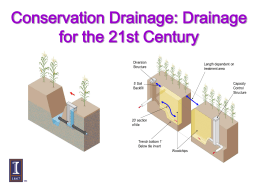 Drainage System Design and Layout
