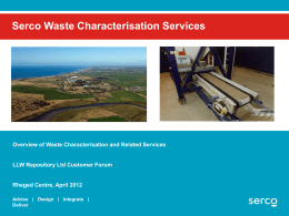 Services - Low Level Waste Repository Ltd