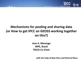 Mechanisms for pooling and sharing data