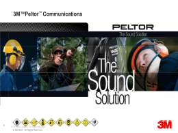 3M™ Peltor™ ORA TAC In-Ear Tactical Communications