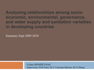 Water supply and sanitation management in Africa