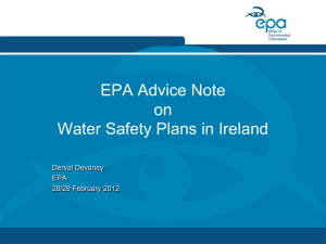 A Water Safety Plan Assessment Tool