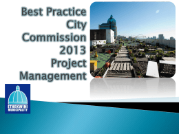 BPCC Project Management 2013