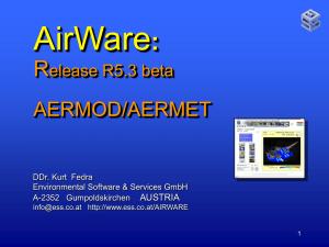 AERMOD View™ Version 8
