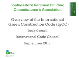 IgCC and Commissioning