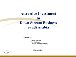 Attractive Investment In Down Stream Business - US
