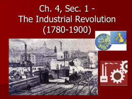 13 Industrial Revolution