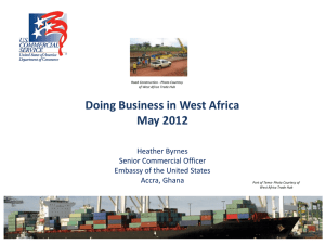 Doing Business in West Africa