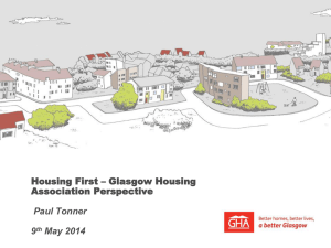 Paul Tonner – Housing First presentation