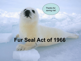 Fur Seal Act of 1966