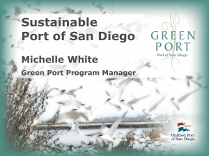 Goals of the Green Port Program Sustainable Development