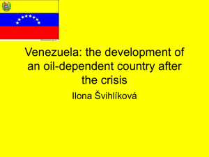 Venezuela: the development of an oil-dependent country after