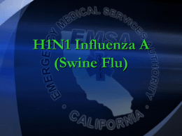H1N1 Influenza A (Swine Flu) COMMUNITY HEALTH NURSING ppt