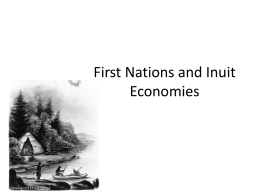 First Nations and Inuit Economies-1