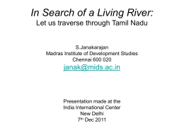 dying-or-dead-rivers-of-tamil-nadu-sjanakarajan-iic