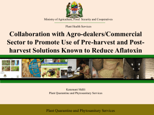 Collaboration with Agro-dealers/Commercial Sector