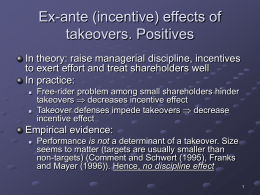 Shareholder interest hypothesis