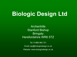 Biologic Design Ltd