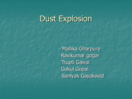 Dust Explosion(21-25) - UCSB College of Engineering