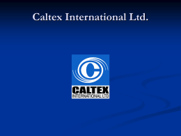 Caltex International Ltd.