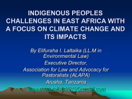 mr_laltaika_presentation - African Commission on Human and