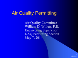ppt - Division of Air Quality