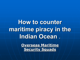 Our Brochure - Overseas Maritime Security Squads