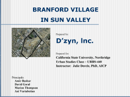 Student Branford Village Sun Valley5 PPT