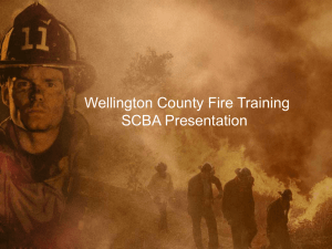 SCBA - Wellington County Training Officers Association