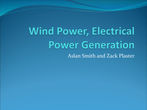 Wind Power, Electrical Power Generation awesome