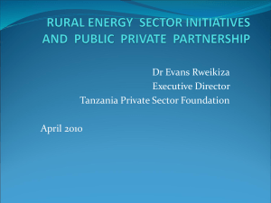 Tanzania Private Sector Foundation