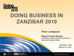 Presentation - Doing Business