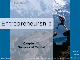[07]. Sources of Capital
