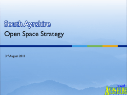 Types of Open Space - South Ayrshire Council