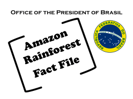 Threats to the Amazon Rainforest