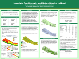 48x36 Poster Template - Nepal Study Center
