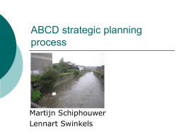 ABCD strategic planning process