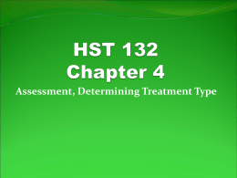 HST 132 Chapter 4