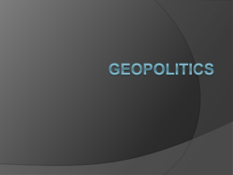 Geopolitics PPT
