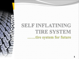 SELF INFLATING TYRE SYSTEMS