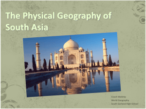 South Asia Powerpoint