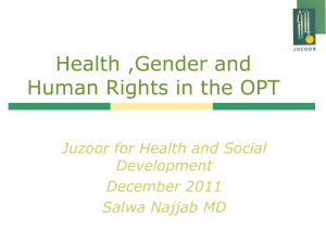 Juzoor for Health and Social Development