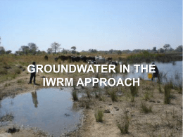 Groundwater & IWRM 1.3 MB - AGW-Net