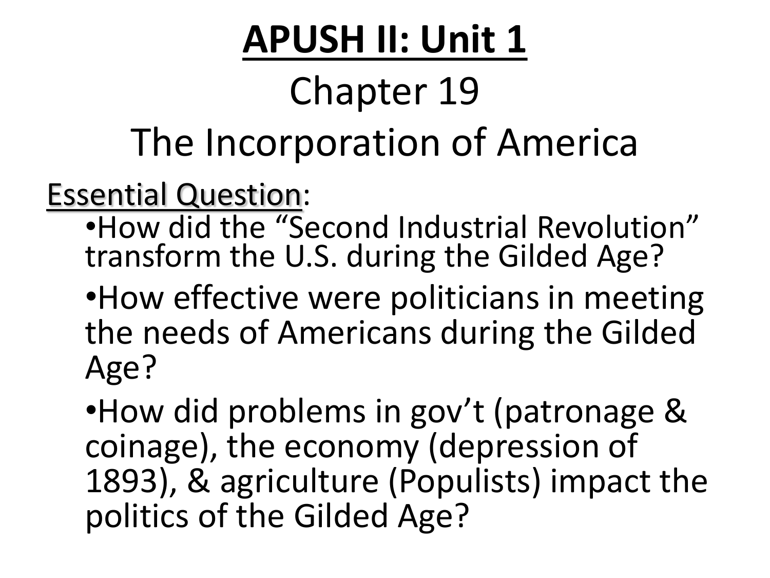 apush essay questions imperialism Essay dbq: effects of imperialism ap world history this question is designed to test your ability to work with and understand rubric dbq essay ap world history.