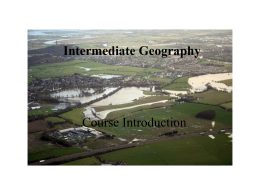 Intermediate Geography