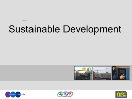 Sustainable Development 5