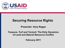Module 1 - Presentation 4: Securing Resource Rights