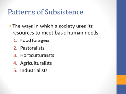 Horticulturalists, Agriculturalists & Industrialists