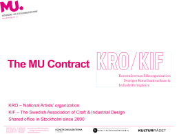 The MU Contract