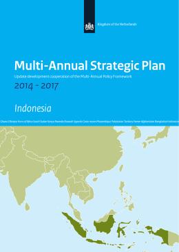 Multi-Annual Strategic Plan Indonesia 2014 - 2017